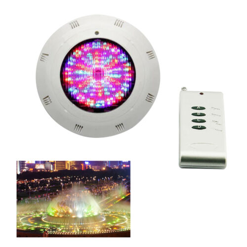 Remote Control IP68 18W 252 LEDs RGB Underwater Swimming Pool Light Lamp 12V