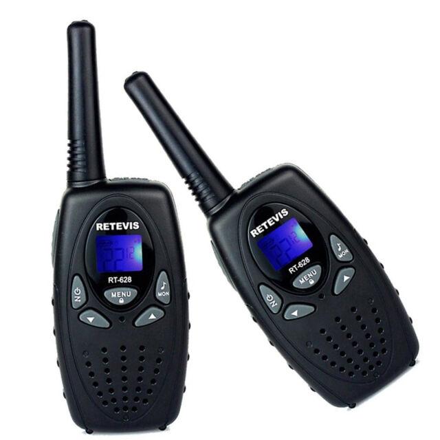 2xRetevis RT628 Walkie Talkie UHF 462.550-467.7125MHz 0.5W Two-Way Radio US Ship