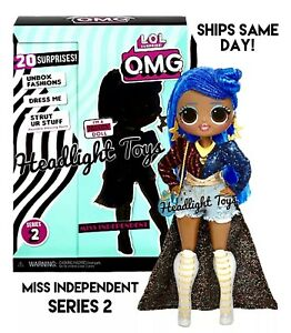 Details About 1 Authentic Lol Surprise Miss Independent Omg 10 Fashion Doll Series 2 Wave 1