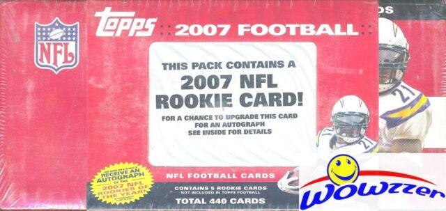 2007 Topps Football 445 Card Factory Set Adrian Peterson Calvin Johnson Rc