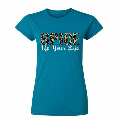 Leopard ladies up your Life  Womens T Shirts