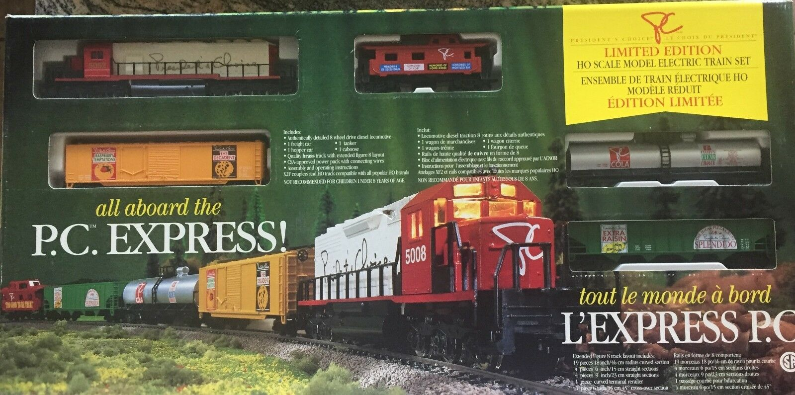 Rare President's Choice Train Set  1 CN SD-35 - Only 100 Made - Extremely Rare