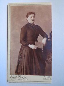 - Steglitz-qui Femme En Robe-portrait/cdv-afficher Le Titre D'origine Ferme En Structure