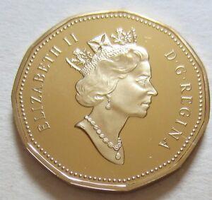 1995 Canada One Dollar Coin. UNC. Loonie