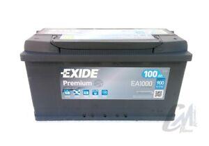 BATTERIA-AUTO-EXIDE-PREMIUM-EA1000-100-AH-900-A-353X175X190-POLO-DX