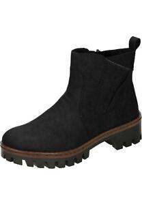 Rieker Stiefeletten Stiefel Boots Damenschuhe schwarz 36 zpLLs
