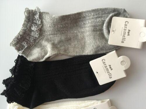 1 Women Girl low cut Fancy Retro Lace Ruffle frilly princess Fashion Short Socks