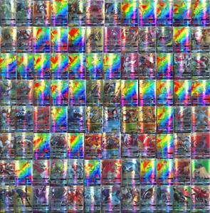 Hot-Sale-100pcs-95-GX-5-MEGA-Cards-Pokemon-Card-Holo-Flash-Trading-GX-Cards