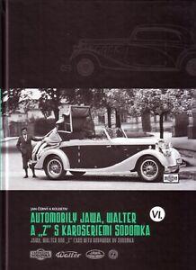 Book-Jawa-Walter-Z-Sodomka-Coachwork-English-Automobily-Karoseriemi-Sodomka