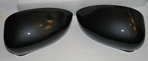 2x-FIAT-500-CARBON-LOOK-COVER-MIRROR-CAPS-REPLACEMENT-ABARTH-BRAND-NEW