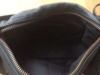 strenesse Abendtasche schwarzes Leder