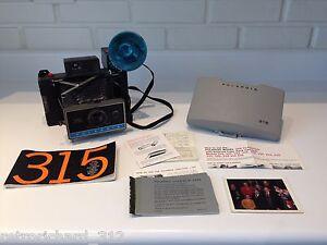 RARE Vintage POLAROID Automatic Instant Film 315 Land CAMERA Retro Rangefinder