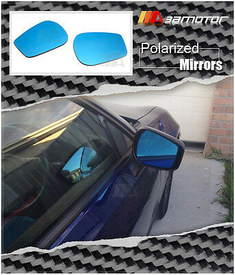 Polarized Door Side View Blue Mirror Glass for TOYOTA 86 FT-86 ZN6 Scion FR-S