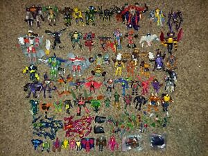 Transformers Beast Machines Beast Wars lot for parts Optimus Dinobot Rhinox more