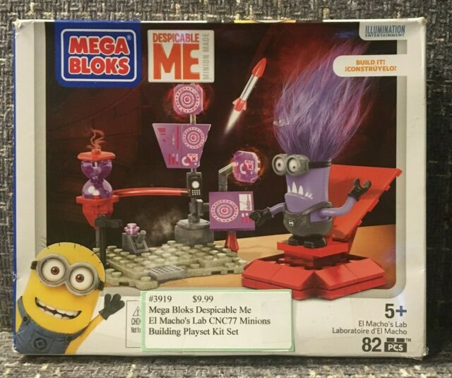 Despicable Me Mega Bloks El Macho/'s Lab *Playset Only*