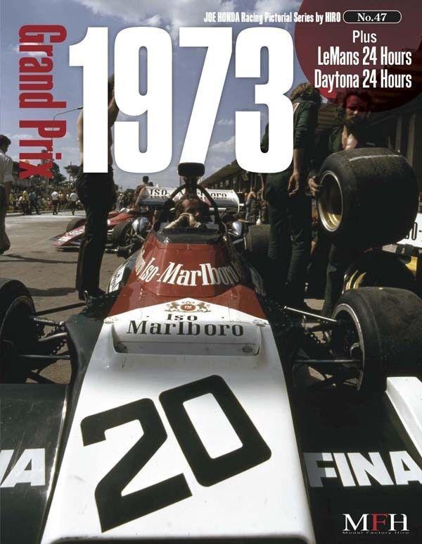 Mfh Buch No47 Tyrrell 006 Lotus 72e M23 1973 Rennsport Gepunktet Serie von Hiro