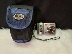 Samsung Digimax S500 5.1MP Digital Camera with 3x Optical Zoom - Silver, Bundle