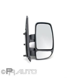 opel movano 11/03- spiegel außenspiegel rechts schwarz manuell | ebay