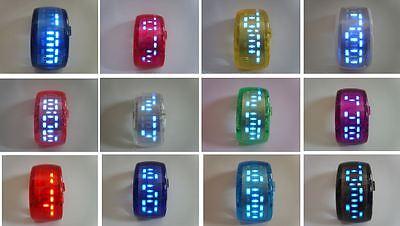 Men's Women's Boys Girls Unisex Fashion Digital LED Bangle/Bracelet Watch