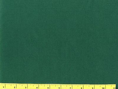 Dark Hunter Green Solid Quilting Fabric by Yard  #2002