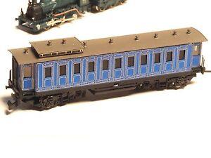 King-Ludwig-II-Powered-Z-scale-RAILEX-motorized-034-ghost-034-car-in-Brass