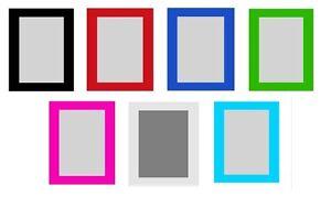 ikea nyttja bilderrahmen fotorahmen 10x15 13x18 18x24 21x30 cm 7 farben neu ebay. Black Bedroom Furniture Sets. Home Design Ideas