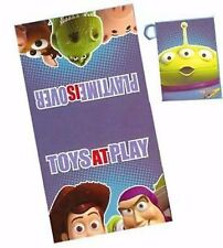 2pc Toy Story Bath Towel (24x44) Set + Wash Mitt (5.5x7.5) Cotton Buzz Woody NWT