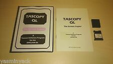 TASCOPY QL - TASMAN SOFTWARE - MICRODRIVE - VGC - SINCLAIR QL 1985 - TESTED