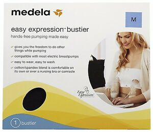 980fe6f854 Image is loading BRAND-NEW-MEDELA-EASY-EXPRESSION-BUSTIER-SIZE-MEDIUM-