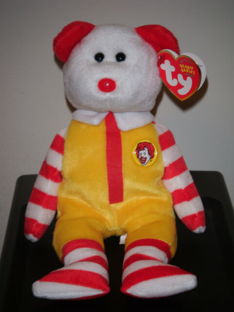 Ty Beanie Baby ~ RONALD McDONALD 8
