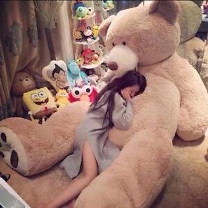 Brand giant large big teddy bear plush soft toy doll uk bears kids image is loading brand giant large big teddy bear plush soft publicscrutiny Gallery