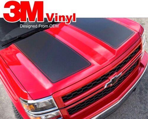 2013 2014 2015 Chevrolet Silverado Rally Edition Stripe Kit Vinyl Graphics 3M