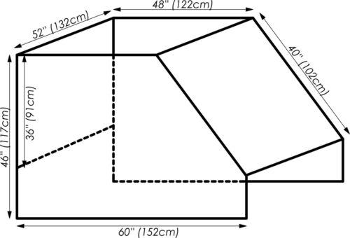 Gabelstapler PVC Kabine Wetterschutzhaube Stapler Abdeckung
