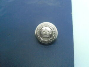 Leeds City police button 24 mm WWII era  Obsolete Constabulary disbanded 1974