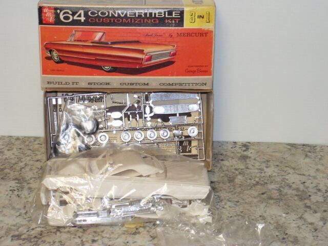 Vintage AMT #6314 1//25 1964 Mercury Convertible Open for sale online