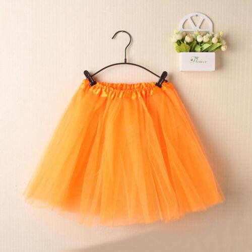 Women/'s Multi Layer Mesh Skirts Ballet Pettiskirt Mini Short Tutu Party Dress