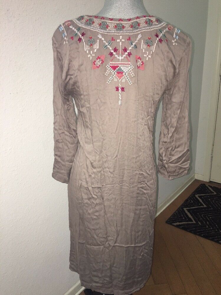 NWT New New New Johnny Was Candace Kaftan Pink Embroidered Tunic Dress Size XS Gorgeous 0b8c17