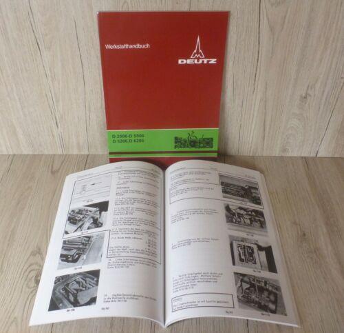 Werkstatthandbuch Deutz Traktor Getriebe für D3607