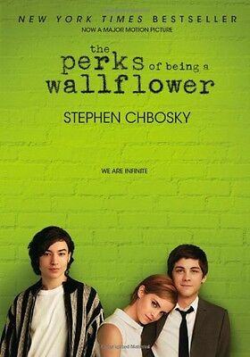 The Perks of Being a Wallflower by Stephen Chbosky, Paperback, New