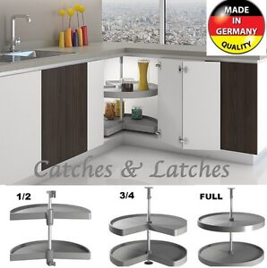 Marvelous Image Is Loading KITCHEN CORNER UNIT CAROUSEL SHELF TRAYS PULL OUT