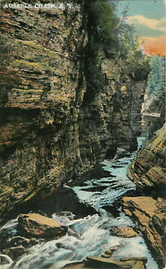 Postcard-Ausable-Chasm-NY