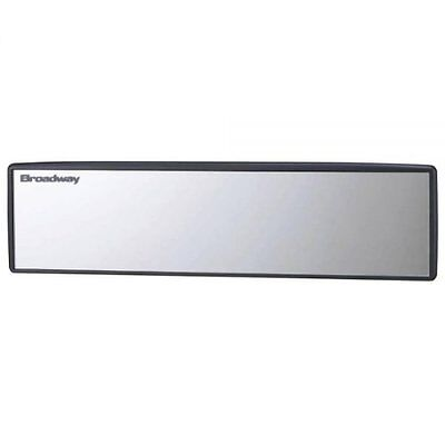 Broadway Wide Rear View Mirror 400MM FLAT Aluminum Universal Fit BW850 Truck Van