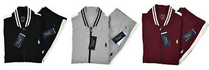 Polo-Ralph-Lauren-Cotton-Interlock-Bomber-Jacket-amp-Pants-Track-Suit-New
