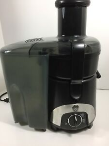 ge general electric juicer 800 watt model 169201 ebay rh ebay com GE Juicer 169201 Parts GE 169201 Juice Extractor