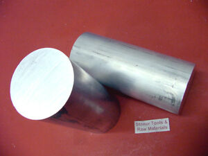 """2 Pieces 4-1//2/"""" OD ALUMINUM 6061 ROUND ROD 7/"""" LONG T6511 4.50/"""" Solid Bar Stock"""