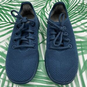 Allbirds Blue Tree Runners Athletic Shoes Women's Size 6