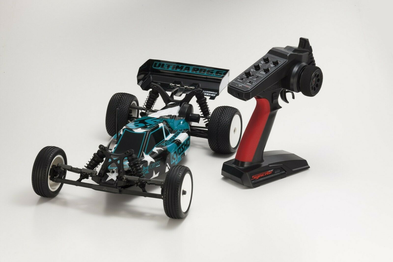 KYOSHO BRAND NEW ULTIMA RB6.6, 10th SCALE, 2WD READYSET (KT231), 34310RS