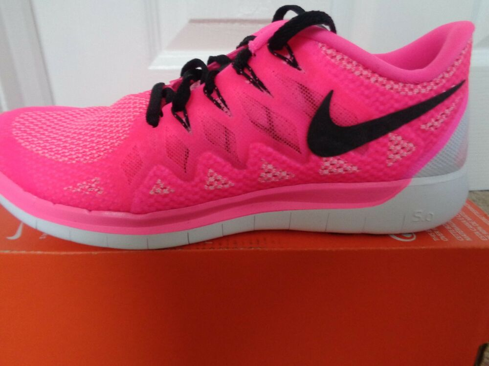 Nike Free 5.0 Femme Chaussures De Sport Baskets 642199 603 uk 3 eu 36 US 5.5 New-