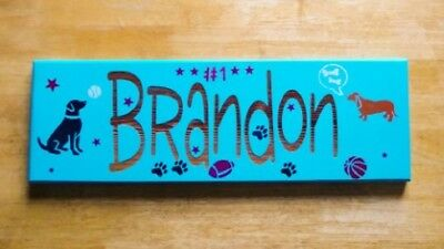 Personalized Child S Name Hand Painted Wood Child S Name Plaques