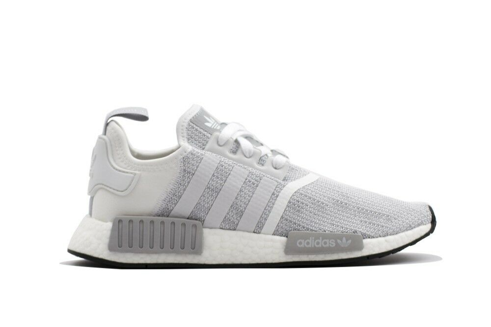 MENS ADIDAS NMD R 1 GREY / WHITE RUNNING SHOES MEN'S SELECT YOUR SIZE